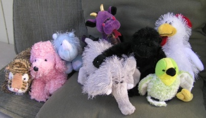 Webkinz Family of 8