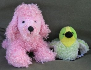 poodle and budgie